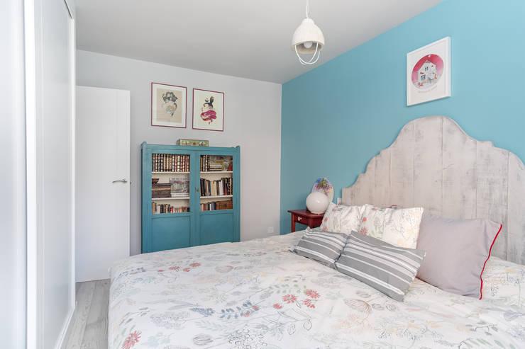 Camere Bianche E Grigie : 52 colori nuovi per la camera da letto