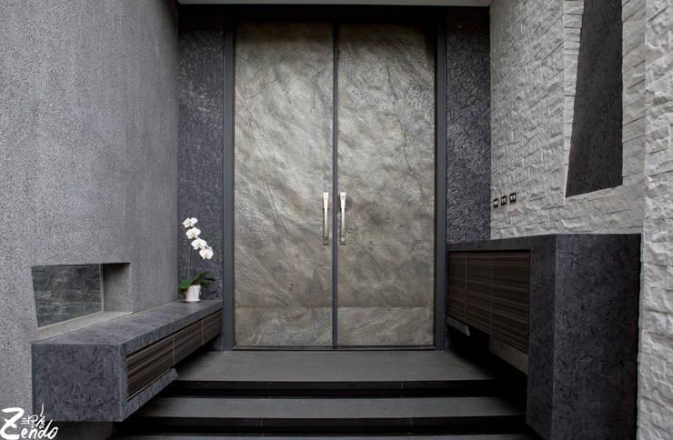 心靈會館:  房子 by Zendo 深度空間設計