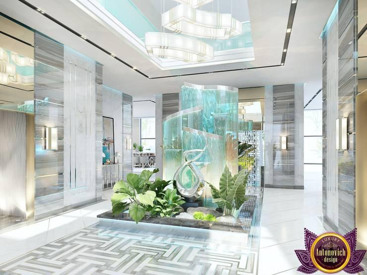 Futurism in interiors of Katrina Antonovich:  Corridor & hallway by Luxury Antonovich Design, Modern
