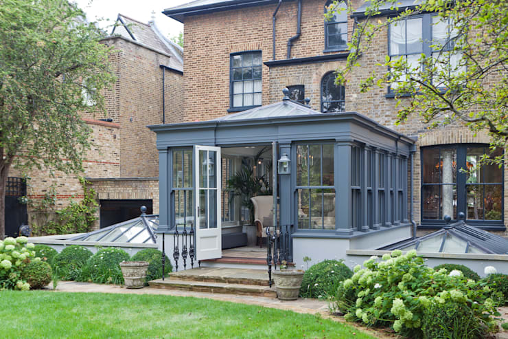 eclectic Conservatory by Vale Garden Houses