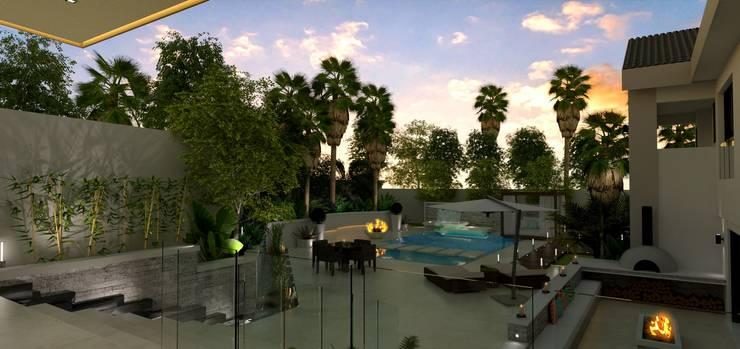House St Andrews:  Garden by Principia Design