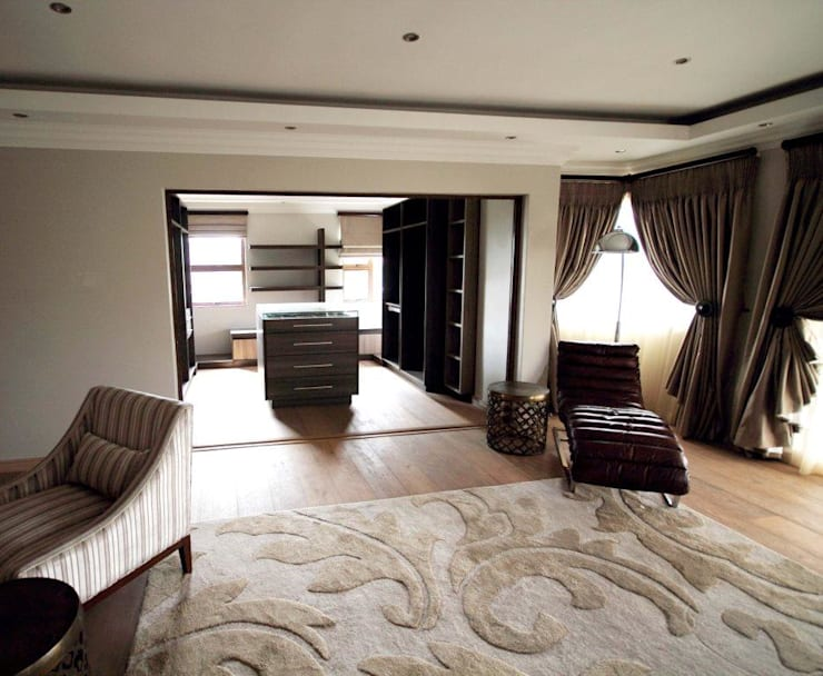 House Swaziland: modern Bedroom by Principia Design