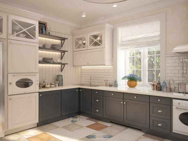 : Cocinas de estilo clásico por Interior designers Pavel and Svetlana Alekseeva