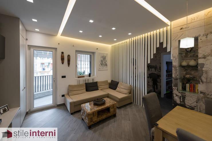 غرفة المعيشة تنفيذ stile interni srl