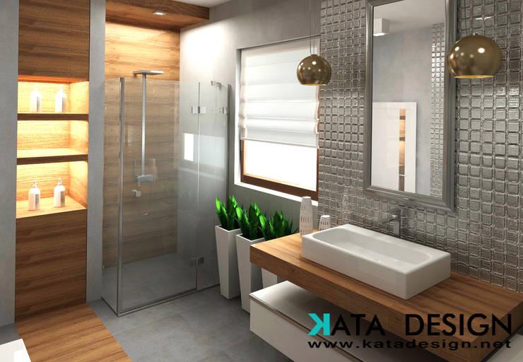 Baños de estilo  por Kata Design, Moderno