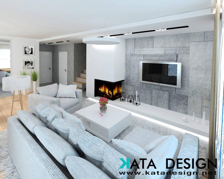 Salas / recibidores de estilo  por Kata Design, Moderno