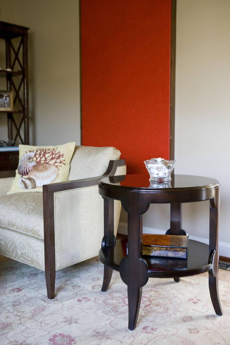 Caribbean Dream - Living Room Vignette:  Living room by Lorna Gross Interior Design