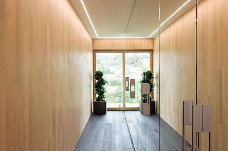 Dressing room by massive passive