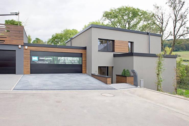 Huizen door massive passive