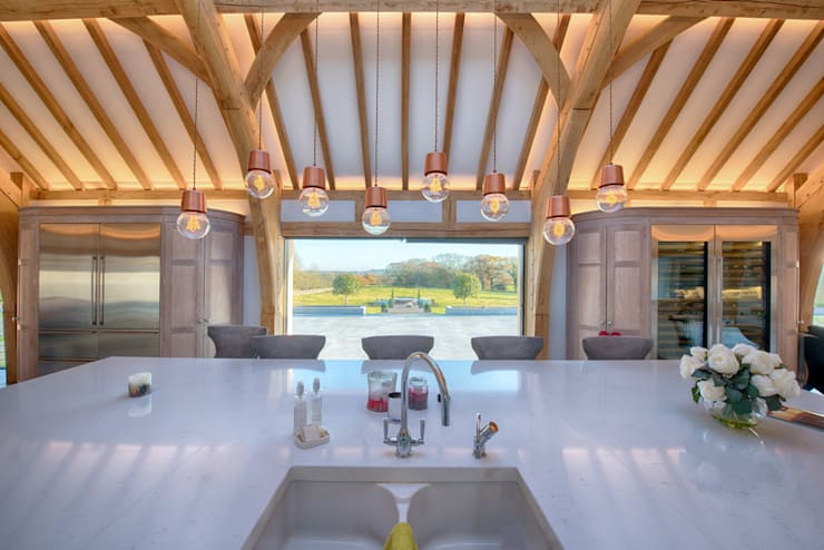 Forty Farm Cocinas de estilo minimalista de Smarta Minimalista