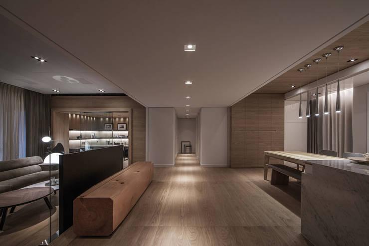 木沐  Wood Present:  走廊 & 玄關 by 璧川設計有限公司