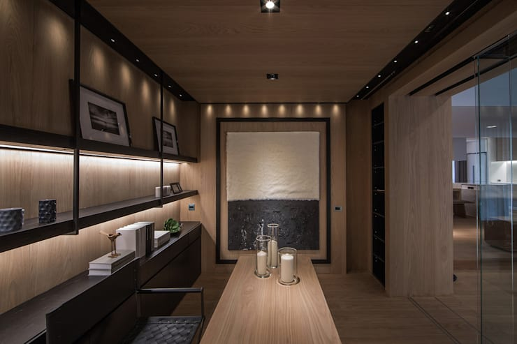 木沐  Wood Present:  書房/辦公室 by 璧川設計有限公司