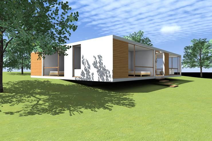 CASA PANTOJA + MASSONE: Casas de estilo  por Arc Arquitectura