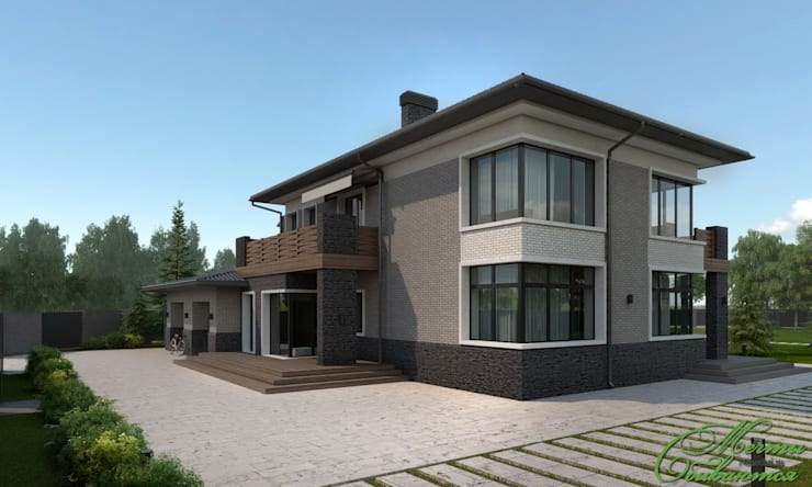 Rumah by Компания архитекторов Латышевых 'Мечты сбываются'
