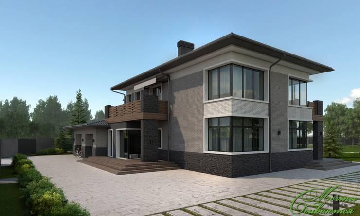 房子 by Компания архитекторов Латышевых 'Мечты сбываются'