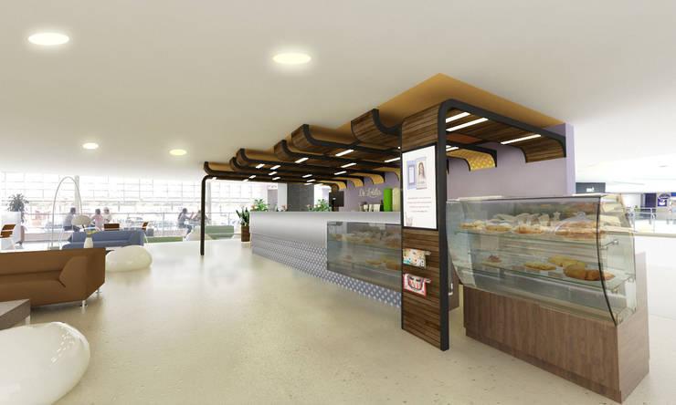 De Lolita - Mayorca Piso 4: Centros comerciales de estilo  por @tresarquitectos,