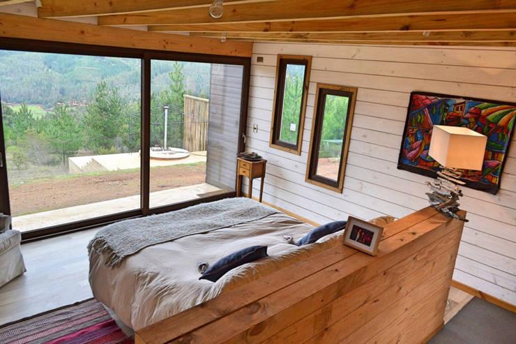 Casa Vichuquén: Dormitorios de estilo  por AtelierStudio