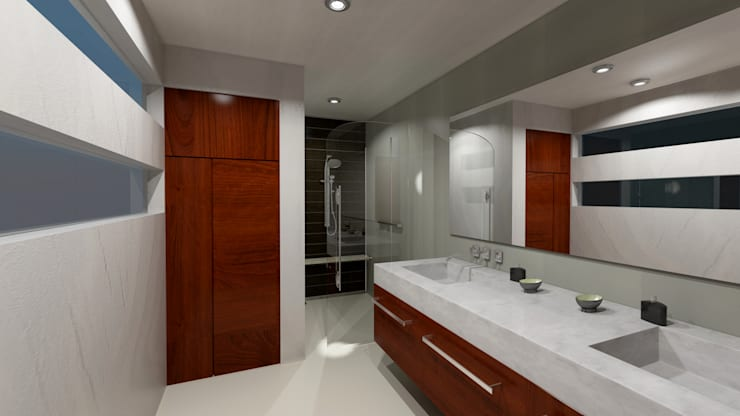 Bathroom by CouturierStudio, Modern