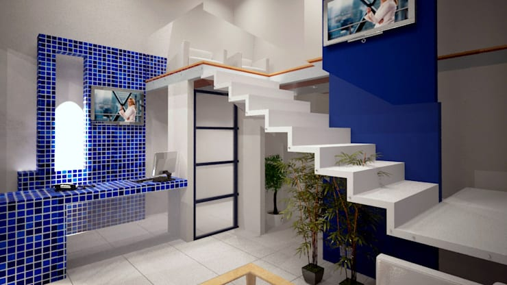 Study/office by CouturierStudio