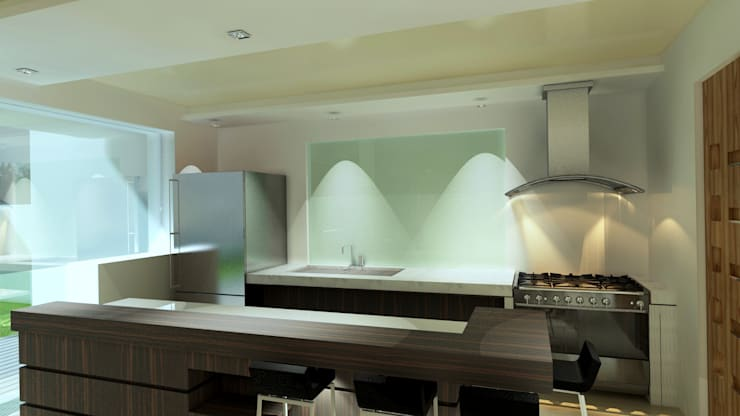 مطبخ تنفيذ CouturierStudio
