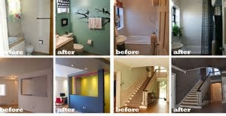 House renovation project:   by Builders Cape Town