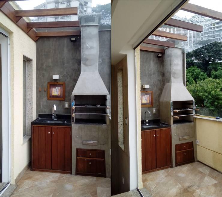 Terrazas de estilo  por Margareth Salles
