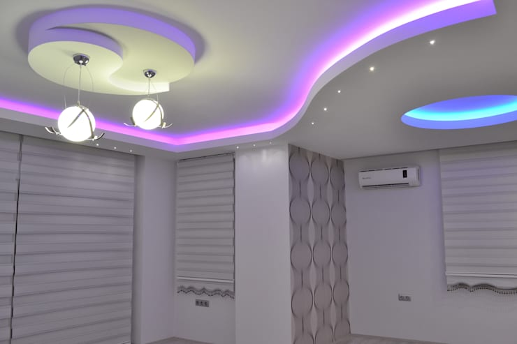Modern Living Room by Damla Yapı Teknik Modern