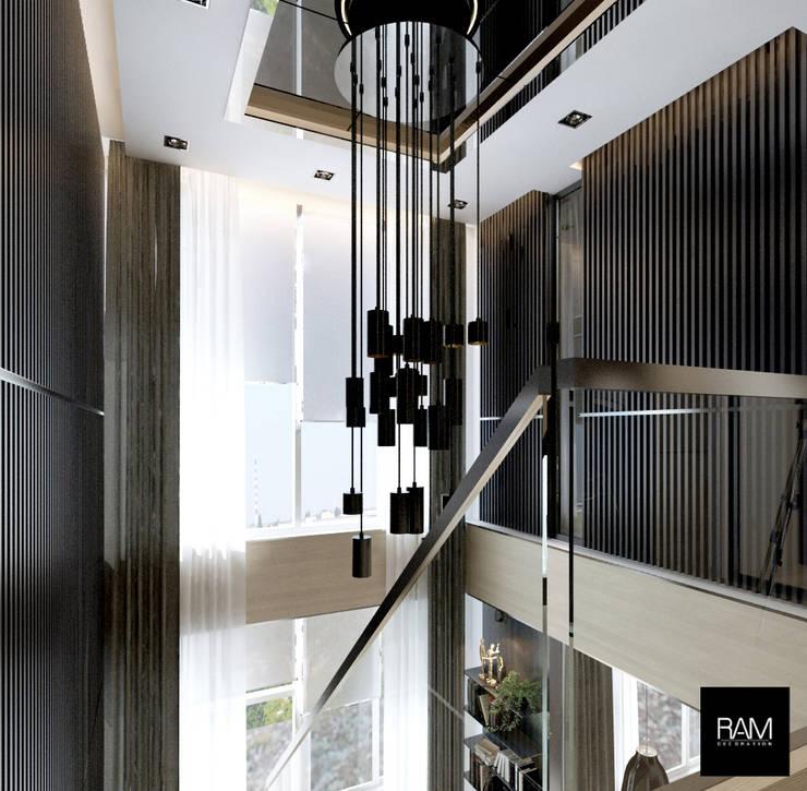 condo The Sky Sukhumvit:   by ramรับออกแบบตกแต่งภายใน