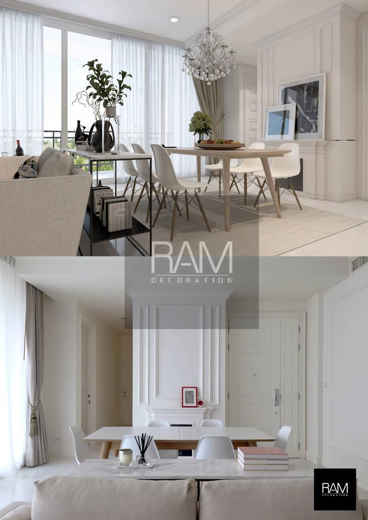 Royce Condo:   by ramรับออกแบบตกแต่งภายใน