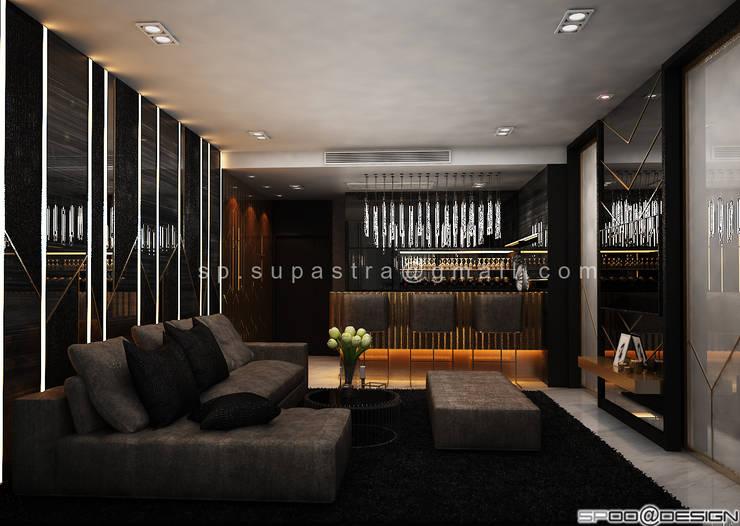 Up Ekamai Condominium :   by SPOO@DESIGN รับออกแบบตกแต่งภายใน