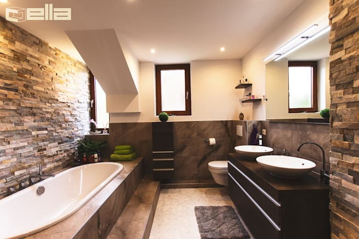 Modern bathroom by Cella GmbH Modern Tiles