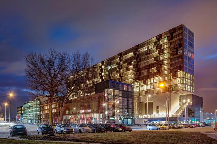 Schiecentrale 4B:  Huizen door Mei architects and planners, Industrieel