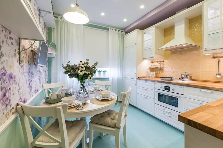 Кухня для новой роли: Кухни в . Автор – Школа Ремонта