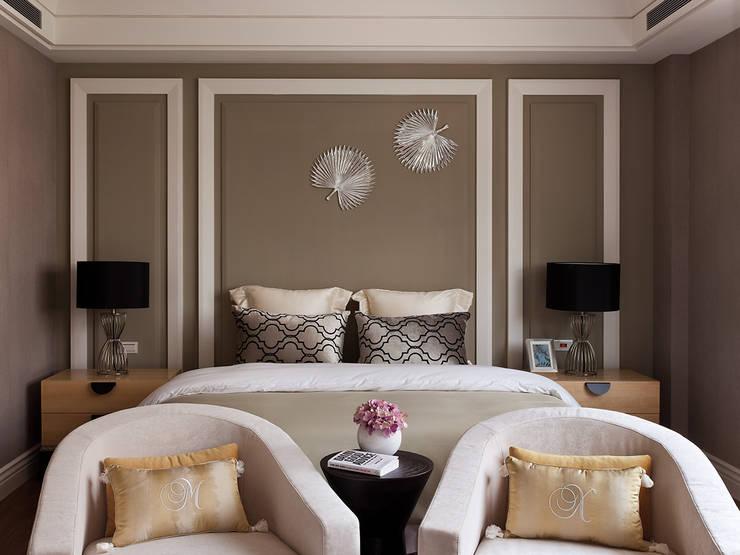 غرفة نوم تنفيذ 大觀室內設計工程有限公司