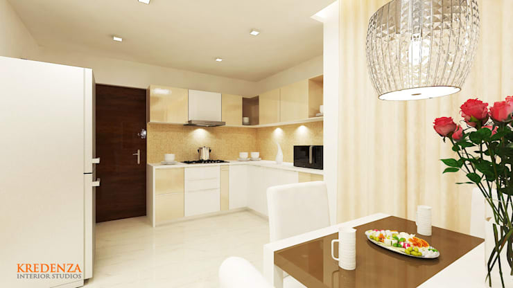 Kitchen:  Kitchen by Kredenza Interior Studios