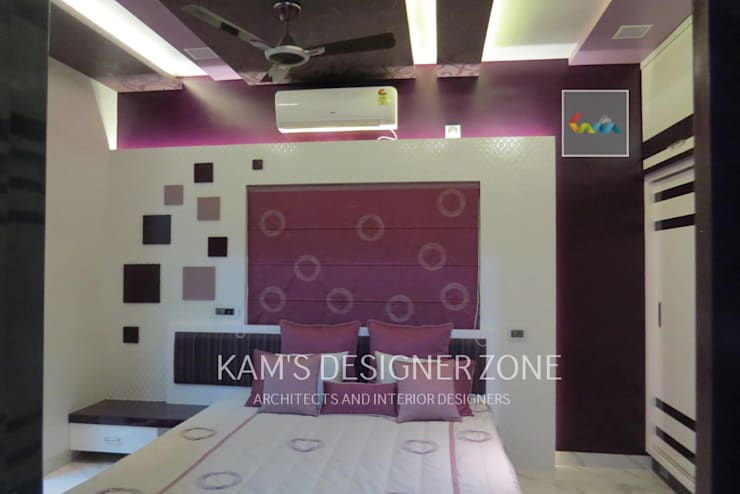 Bedroom Interior Design: modern Nursery/kid's room by KAM'S DESIGNER ZONE
