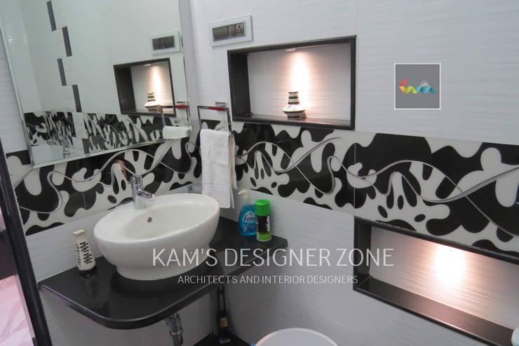 Bathroom Interior Design: modern Bathroom by KAM'S DESIGNER ZONE