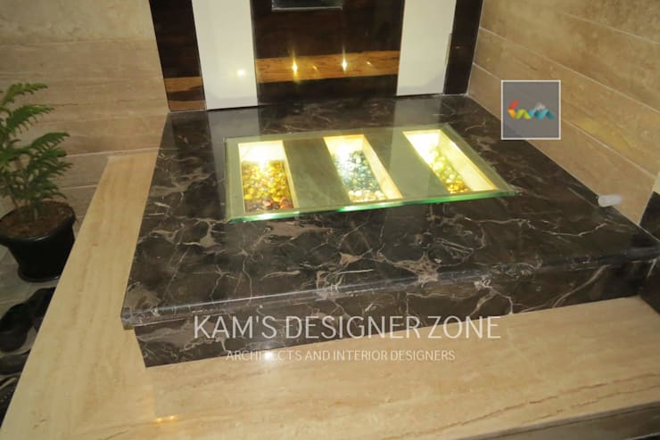 Home interior design for Mr. Aji John: modern Media room by KAM'S DESIGNER ZONE