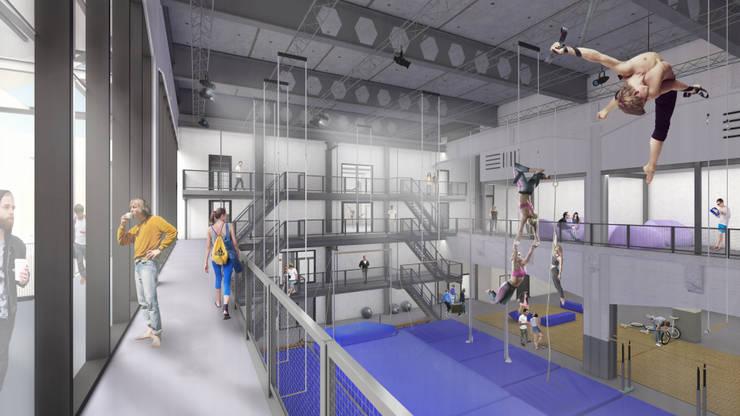 Fenix I:  Fitnessruimte door Mei architects and planners