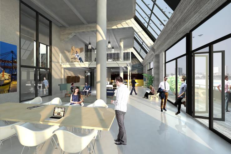 Fenix I:  Studeerkamer/kantoor door Mei architects and planners, Modern