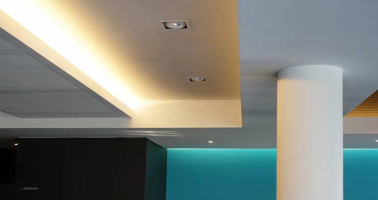 서래마을 카페드앙떼띠 인테리어 / BLANK Architects: 블랭크건축사사무소의  거실