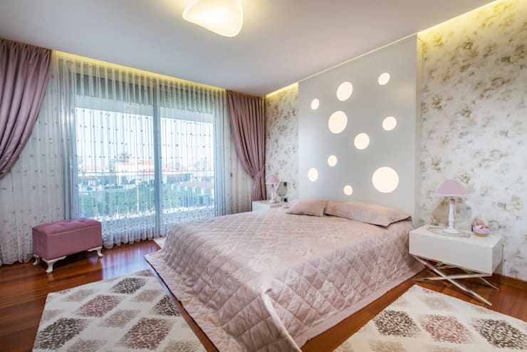 Спальни в . Автор – Mimode Mimarlık/Architecture