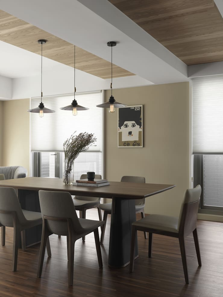 賀澤室內設計 HOZO_interior_design:  餐廳 by 賀澤室內設計 HOZO_interior_design