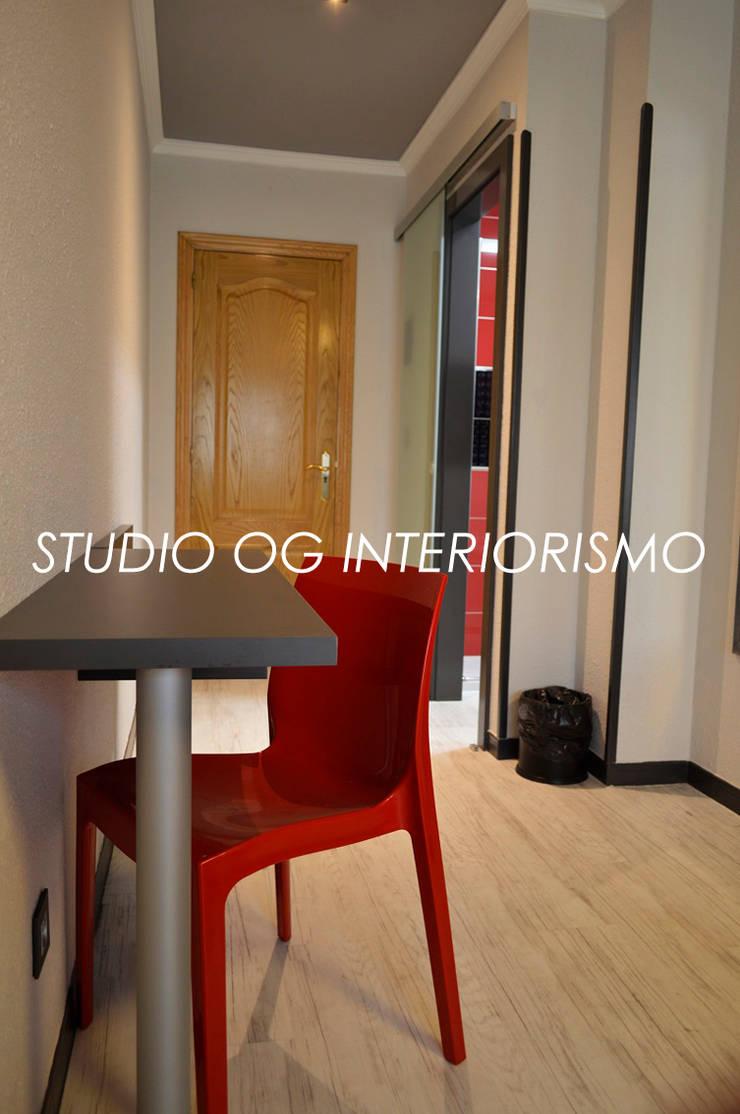 Hoteles de estilo  por STUDIO OG INTERIORISMO