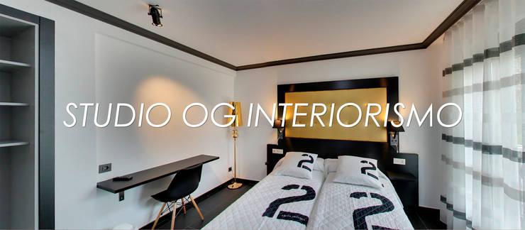 Hôtels de style  par STUDIO OG INTERIORISMO