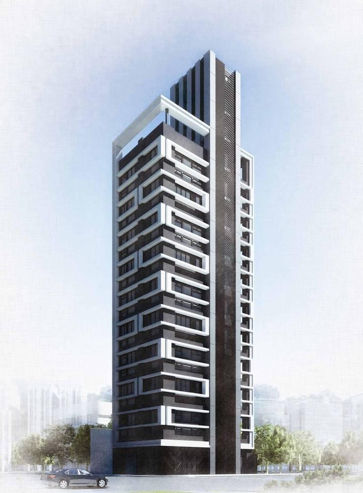 集合住宅設計案:  房子 by 馬瑞聰建築師事務所