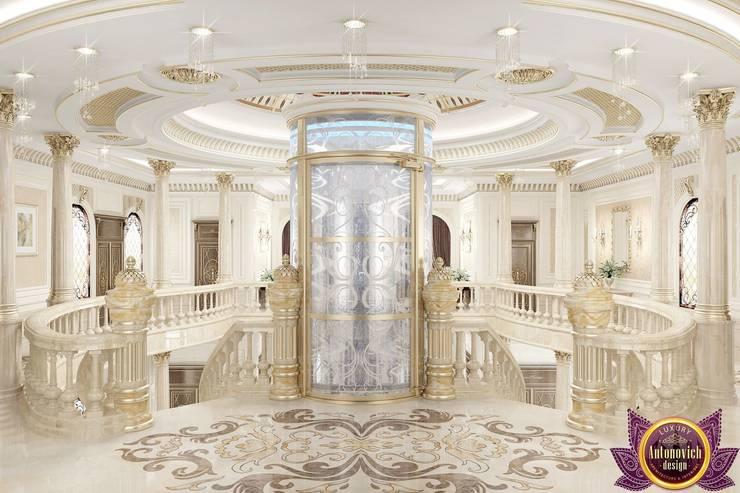 New era of luxury from Katrina Antonovich:  Corridor & hallway by Luxury Antonovich Design