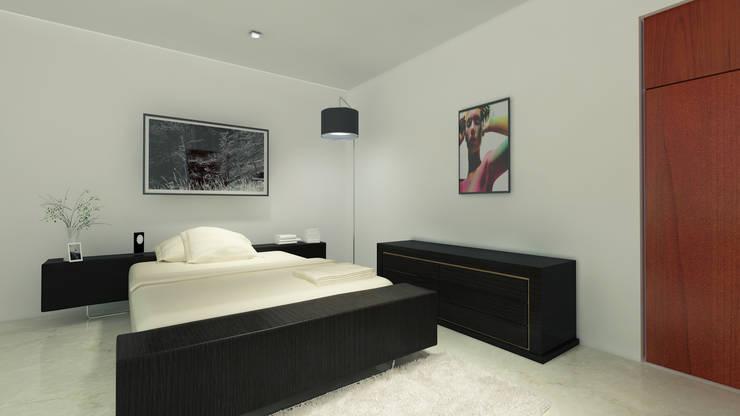 غرفة نوم تنفيذ CouturierStudio