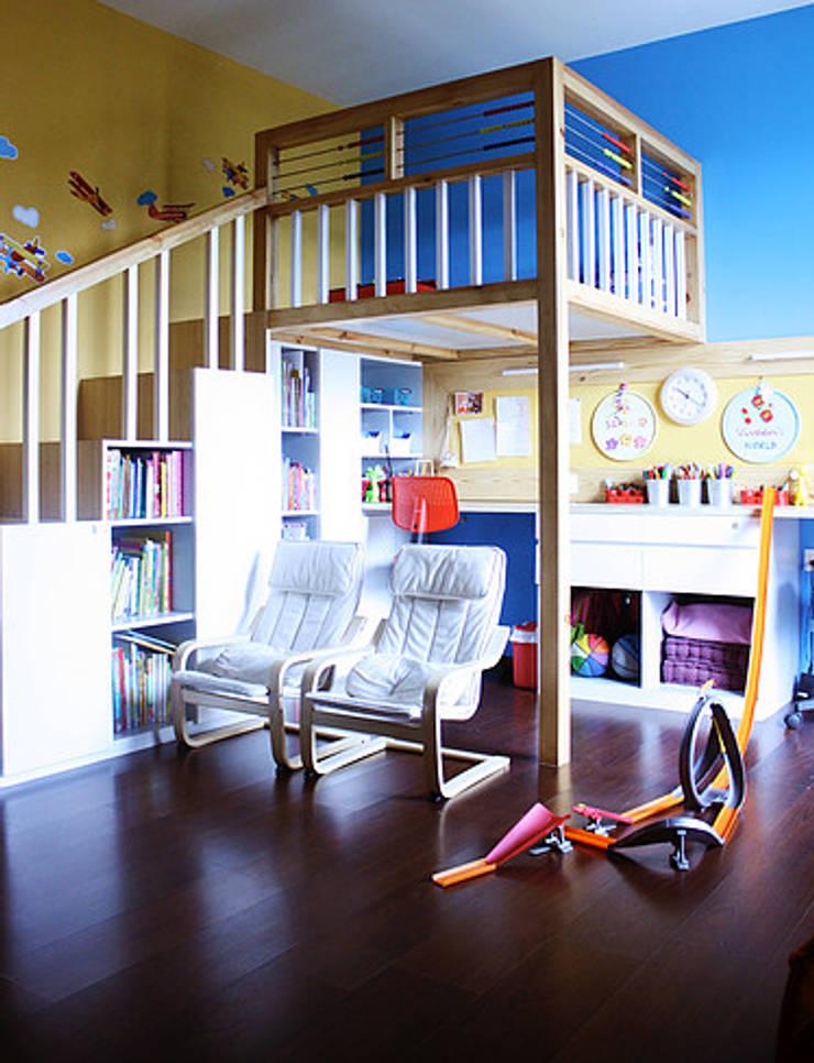 Park View Spa: modern Nursery/kid's room by stonehenge designs