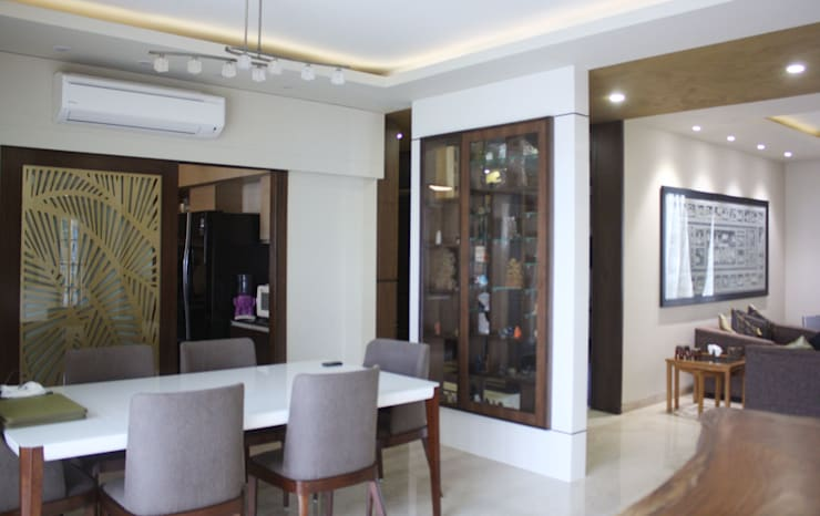 Park View Spa: modern Dining room by stonehenge designs